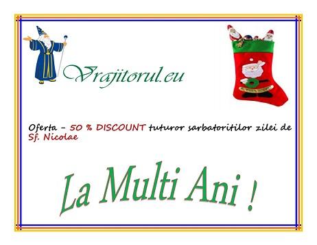 oferta de Sf. Nicolae